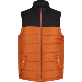 Regatta Hadley B/W II bodywarmer Heren, burnt umber/black